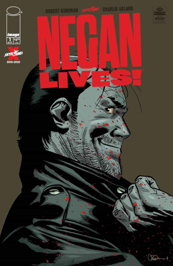Negan Lives! The Walking Dead torna in edicola