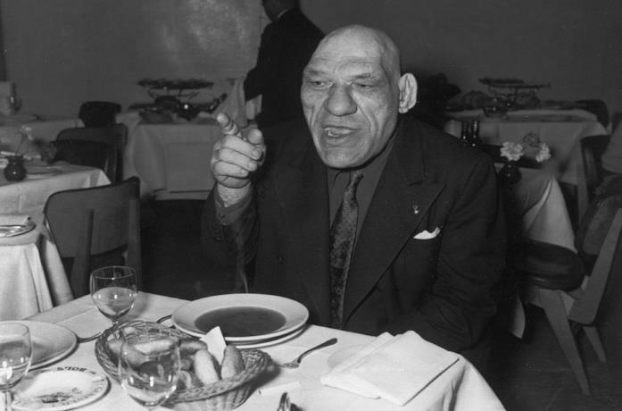 Maurice Tillet, lottatore francese vissuto nella prima metà del '1900