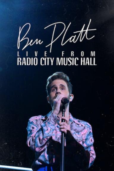 Poster Ben Platt: Live from Radio City Music Hall