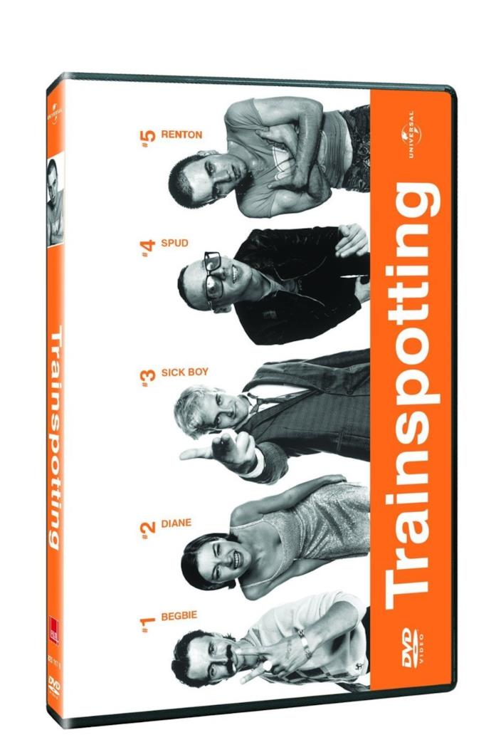 Il DVD di Trainspotting