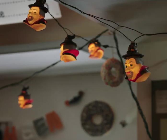 Le luci di Halloween