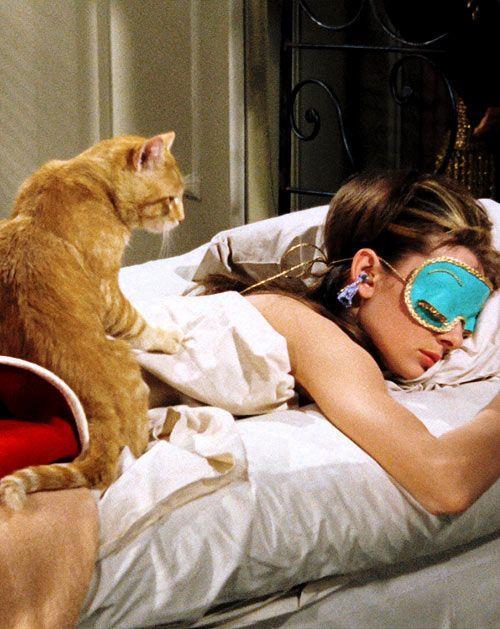Holly e il Gatto in Colazione da Tiffany