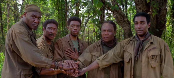 Il gruppo dei 5 soldati da giovane