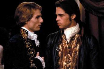 Brad Pitt e Tom Cruise in Intervista col vampiro