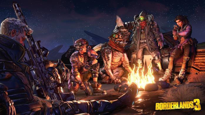 Borderlands 3 cacciatori della cripta