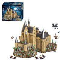 DAN DISCOUNTS, 6188 mattoncini per costruzioni di Hogwarts Modular Building, Architettura Custom di gioco di costruzione compatibile con Lego Harry Potter, Hogwarts (71043)