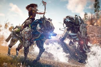 Aloy in Horizon Zero Dawn per PS4 e PC