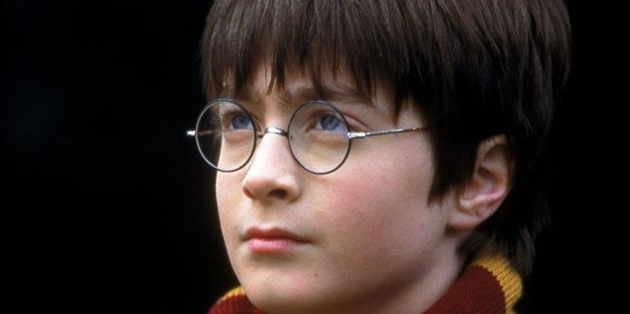 "Daniel Radcliffe in ""Harry Potter e la pietra filosofale"""