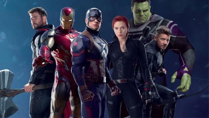 I Vendicatori coi loro nuovi costumi in Avengers: Endgame