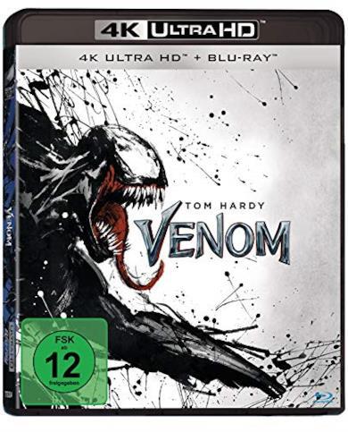 Venom  (4K Ultra HD) (+ Blu-ray 2D)