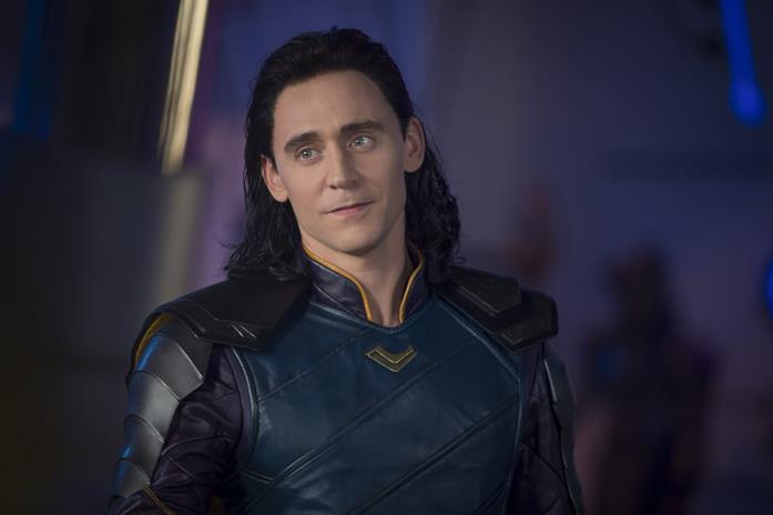 Tom Hiddleston nei panni di Loki