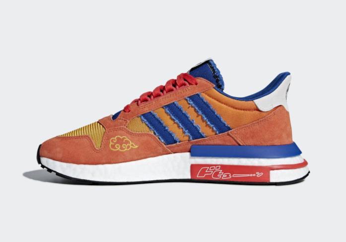 Le scarpe ufficiali di Goku di Adidas