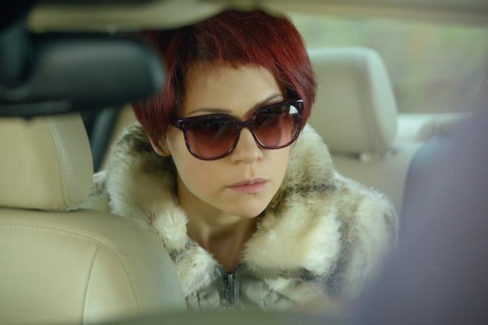 Tatiana Maslany interpreta Katja Obinger