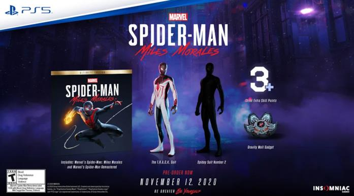 Immagine promozionale di Marvel's Spider-Man: Miles Morales - Ultimate Edition