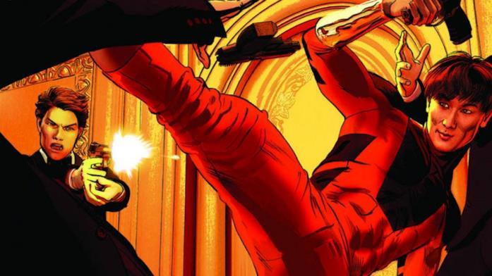 Shang-Chi in combattimento nei fumetti Marvel