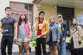 I Runaways nella serie TV