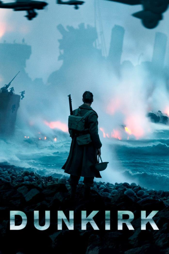 Un soldato britannico di spalle, durante una scena di Dunkirk