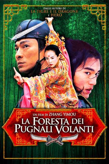 Poster La foresta dei pugnali volanti