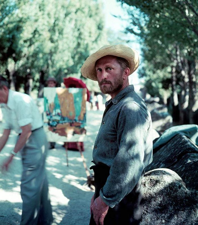 Douglas in una scena del film