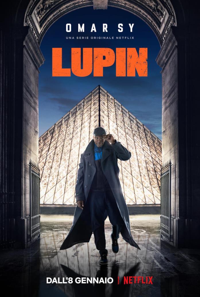 Lupin - poster della serie Netflix