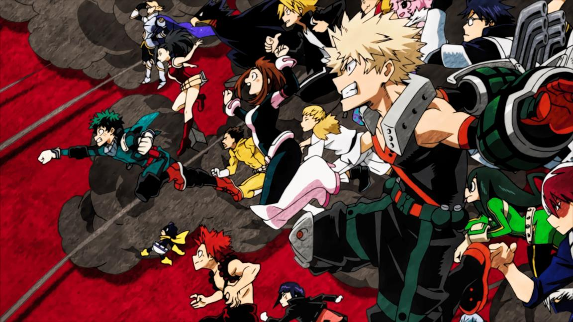 My Hero Academia cast