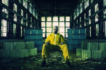Walter White in una foto promozionale di Breaking Bad