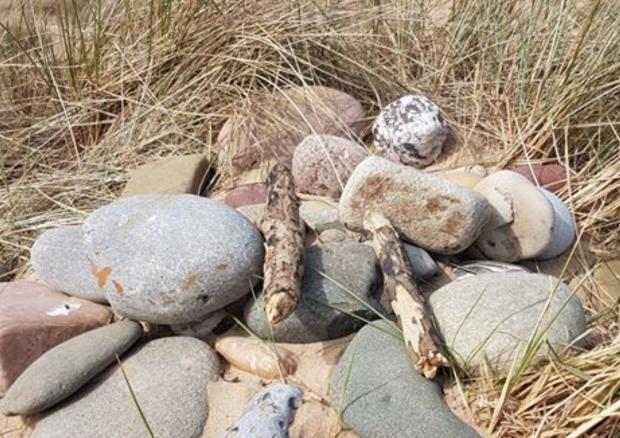La tomba di Dobby creata dai fan di Harry Potter, ora distrutta