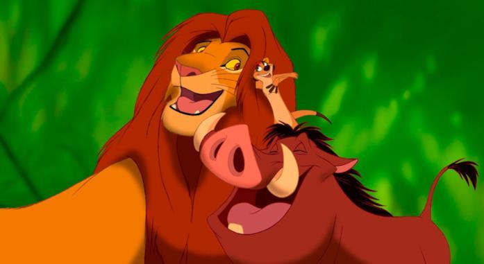 Simba, Timon e Pumba de Il Re Leone
