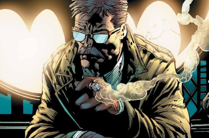 Un'immagine del commissario Gordon nei fumetti DC Comics