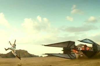 Star Wars: L'ascesa di Skywalker, guarda la scena in cui Rey distrugge l'astronave di Kylo Ren
