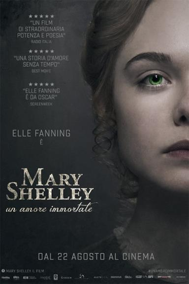 Poster Mary Shelley - Un amore immortale