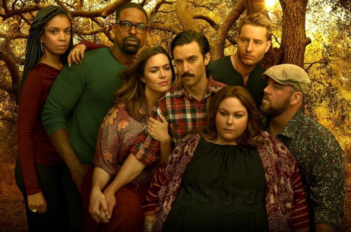Il cast di This is Us in una foto promozionale