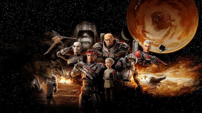 La squadra Bad Batch di Star Wars