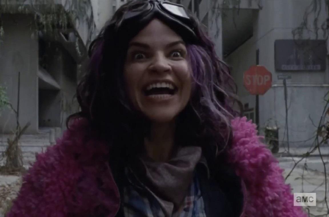 L'attrice Paola Lázaro interpreta Princess in The Walking Dead 10