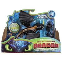 Dragons 6052275 Hiccup e Sdentato - Drago con Vichingo