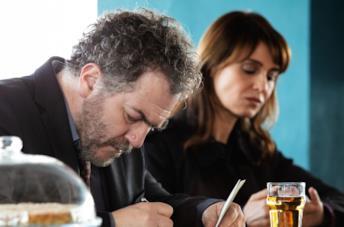 Petra: Antonio Pennacchi e Paola Cortellesi
