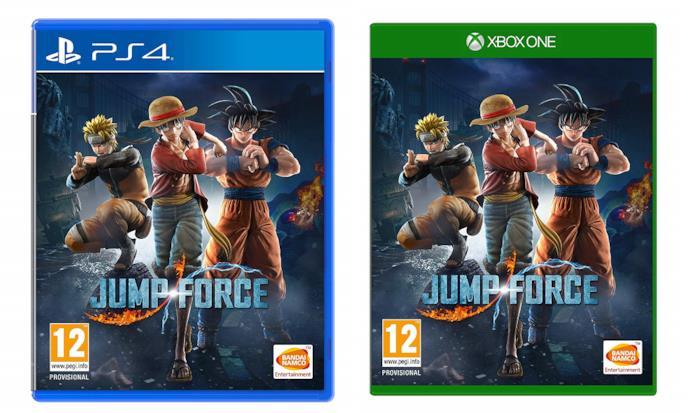 Jump Force per PS4 e Xbox One
