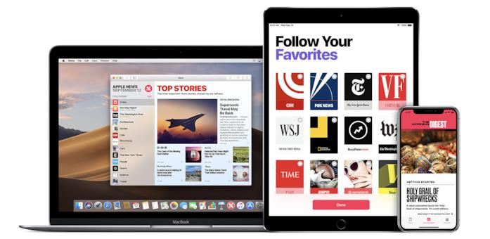 Immagine promozionale per Apple News