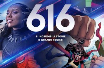 Il logo di Marvel's 616