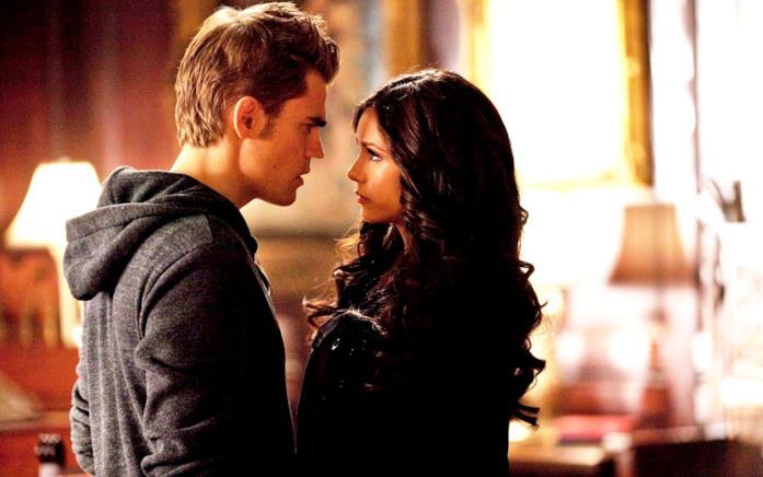 I vampiri Stefan e Katherine