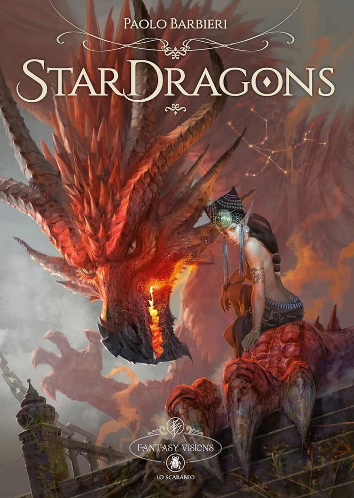 Paolo Barbieri illustrazioni Star Dragons