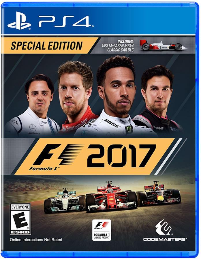 F1 2017 per PS4, Xbox One e PC
