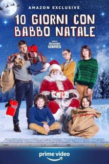 Poster 10 giorni con Babbo Natale