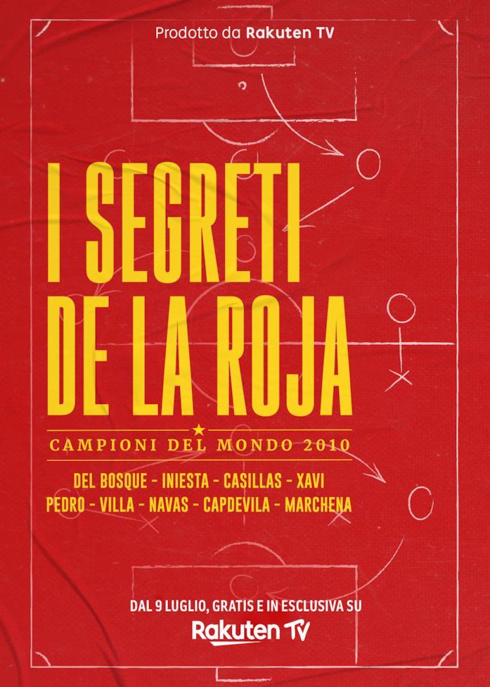 Il poster de I Segreti de la Roja - Campioni del mondo 2010