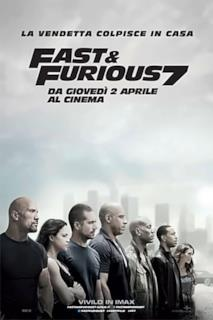 Poster Fast & Furious 7