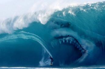 Il Megalodonte del film Shark - Il Primo Squalo