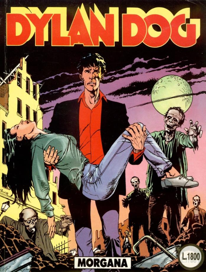 Dylan Dog: cover dell'album Morgana
