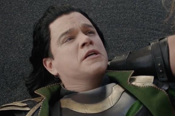 Matt Damon nei panni di Loki