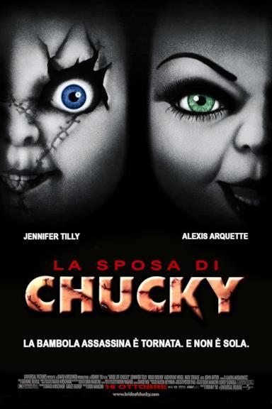 Poster La sposa di Chucky