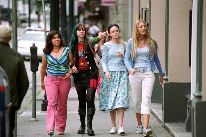 Una scena di Quattro Amiche e un Paio di Jeans